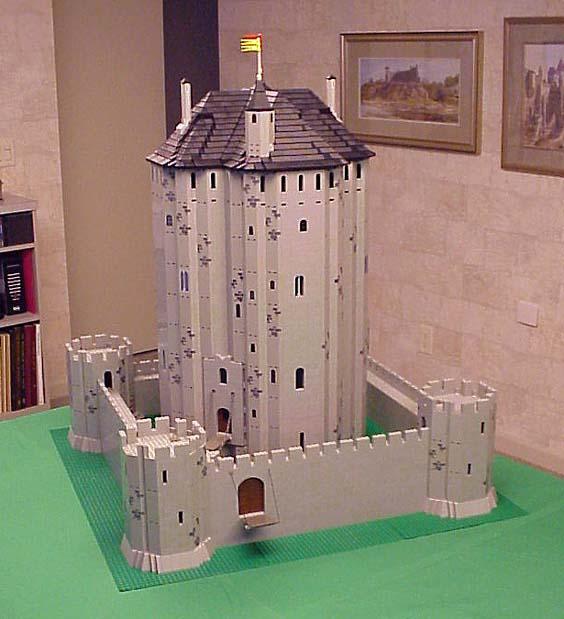 Robert carney chateau d 39 etampes maquettes lego 1989 et for Chateau etampes