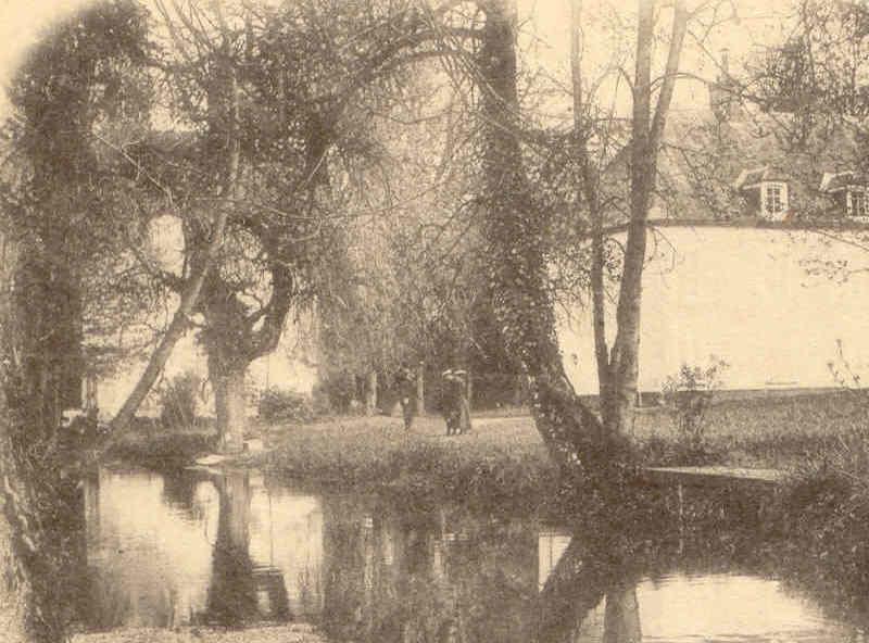 le moulin de valnay en 1901 clich louis didier des gacons - Chateau De Valnay Mariage
