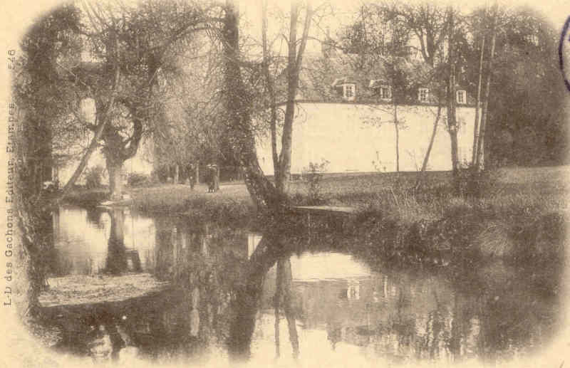 le moulin de valnay en 1901 clich louis didier des gacons carte n - Chateau De Valnay Mariage