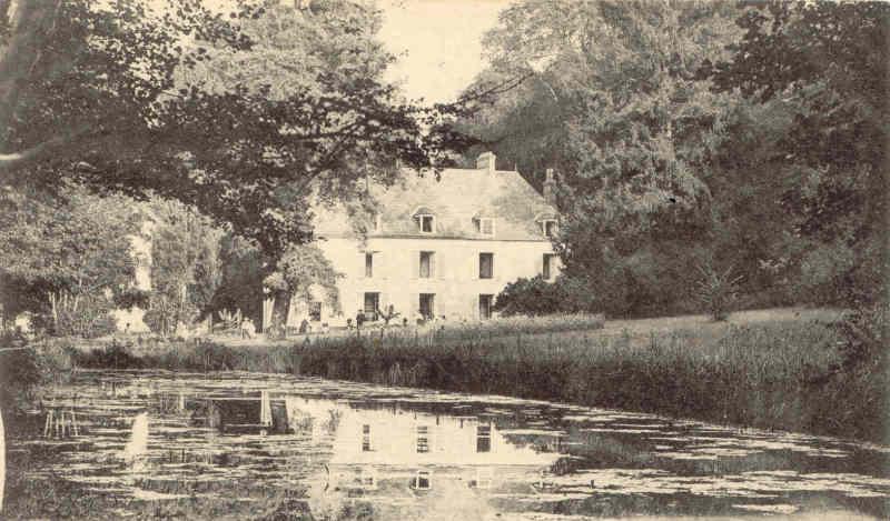 le moulin et le chteau de valnay en 1903 clich louis didier des gacons - Chateau De Valnay Mariage