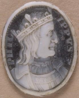 Philippe III le Hardi d'après un camée des années 1630