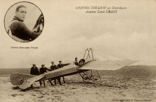 Etampes-Aviation: Aviateur Comte Grassi