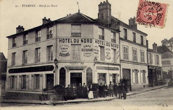 Charles delaunay cartes postales pour les clients de l for Hotel pres de la gare